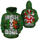 Fitz-Edmonds Family Crest Ireland National Tartan Irish To The Bone Hoodie
