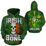 More Family Crest Ireland National Tartan Irish To The Bone Hoodie