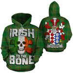 Hickman Family Crest Ireland National Tartan Irish To The Bone Hoodie