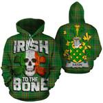 Eaton Family Crest Ireland National Tartan Irish To The Bone Hoodie