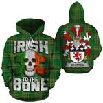 Whitten Family Crest Ireland National Tartan Irish To The Bone Hoodie