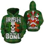 Pyne Family Crest Ireland National Tartan Irish To The Bone Hoodie