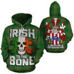 Carpenter Family Crest Ireland National Tartan Irish To The Bone Hoodie