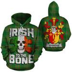 Branigan Family Crest Ireland National Tartan Irish To The Bone Hoodie