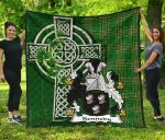 Irish Family, Kennedy or O'Kennedy Family Crest Quilt TH45