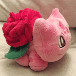 Rose Bulbasaur Plushie TH10