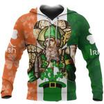 Ireland Hoodie Saint Patrick's Day TH5