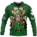 Ireland Hoodie Saint Patrick's Day (Green) TH5