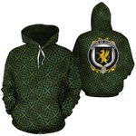 O'Griffy Family Crest Ireland Background Gold Symbol Hoodie