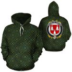 Porter Family Crest Ireland Background Gold Symbol Hoodie