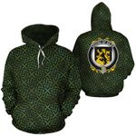 Giles Family Crest Ireland Background Gold Symbol Hoodie
