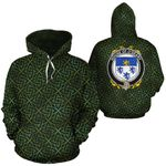 O'Geary Family Crest Ireland Background Gold Symbol Hoodie