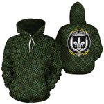 Ley Family Crest Ireland Background Gold Symbol Hoodie