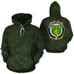 O'Mulcahy Family Crest Ireland Background Gold Symbol Hoodie