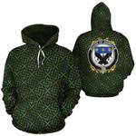 Drisdale Family Crest Ireland Background Gold Symbol Hoodie