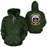 Dixon Family Crest Ireland Background Gold Symbol Hoodie