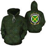 O'Dowd Family Crest Ireland Background Gold Symbol Hoodie