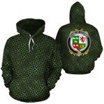 O'Conry Family Crest Ireland Background Gold Symbol Hoodie