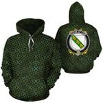 Low Family Crest Ireland Background Gold Symbol Hoodie