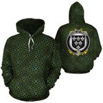 Penne Family Crest Ireland Background Gold Symbol Hoodie