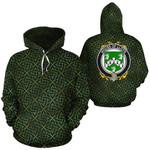 Lloyd Family Crest Ireland Background Gold Symbol Hoodie