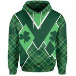 St. Patrick's Day Ireland Hoodie Shamrock