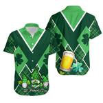 St. Patrick's Day Ireland Gnome Hawaiian Shirt Shamrock