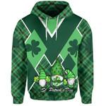 St. Patrick's Day Ireland Gnome Hoodie Shamrock