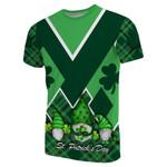 St. Patrick's Day Ireland Gnome T-Shirt Shamrock