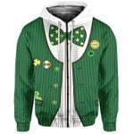 St. Patrick's Day Ireland Zip-Hoodie Gile Special Style No.1