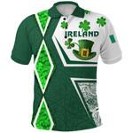 Ireland Polo Shirt Irish Saint Patrick Day Unique Vibes K8