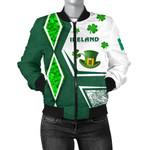 Ireland Women Bomber Jacket Irish Saint Patrick Day Unique Vibes