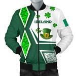 Ireland Men Bomber Jacket Irish Saint Patrick Day Unique Vibes