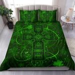 Ireland Bedding Set Irish Saint Patrick Day Celtic Cross