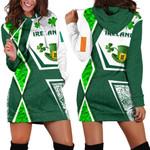 Ireland Women Hoodie Dress Irish Saint Patrick Day Unique Vibes