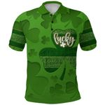 Irish Patrick's Day Polo Shirt Lucky  | 1stIreland