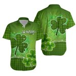 Happy Saint Patrick's Day Hawaiian Shirt Shamrock  | 1stIreland