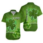 (Custom Personalised) Happy Saint Patrick's Day Hawaiian Shirt Shamrock  | 1stIreland