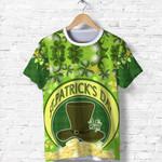 St. Patrick's Day T Shirt Shamrock  | 1stIreland