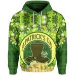 (Custom Personalised) St. Patrick's Day Hoodie Shamrock    1stIreland