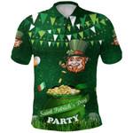 Patrick's Day Polo Shirt Shamrock Festival Style K36