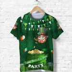 Patrick's Day T Shirt Shamrock Festival Style K36