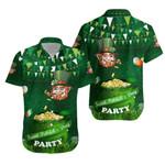 Patrick's Day Hawaiian Shirt Shamrock Festival Style K36