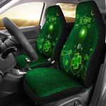 Patrick's Day Car Seat Covers Shamrock Vibes