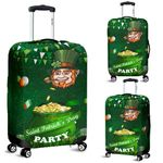 Patrick's Day Luggage Covers Shamrock Festival Style
