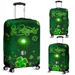 Patrick's Day Luggage Covers Shamrock Vibes