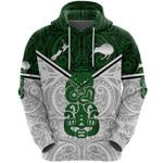 New Zealand Maori Rugby Hoodie Pride Version - White K8