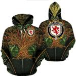 1stIreland Ireland Hoodie - House of CONDON Irish Family Crest Hoodie - Tree Of Life A7