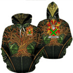 1stIreland Ireland Hoodie - Andrew Irish Family Crest Hoodie - Tree Of Life A7