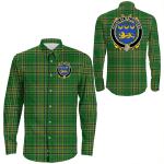 1stIreland Ireland Shirt - House of MACGOVERN Irish Crest Long Sleeve Button Shirt A7